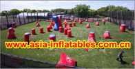 bunker gonfiabile di paintball del PVC di 0.6mm per gli sport di paintball fornitore