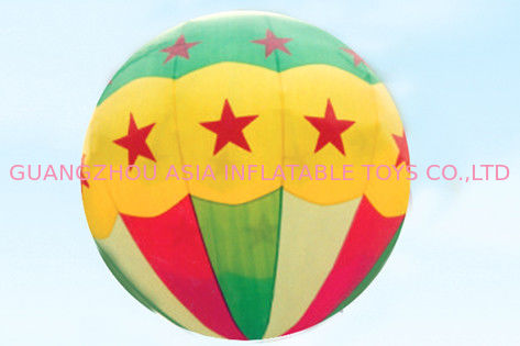 Attractive star pattern inflatable helium balloon